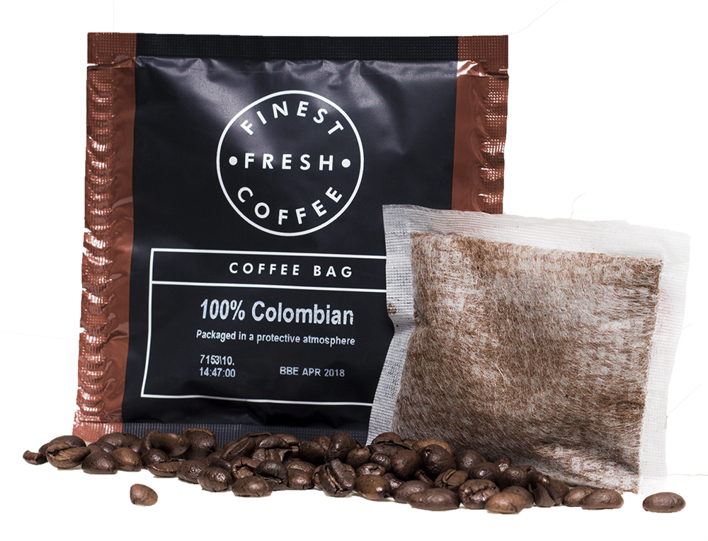 100 Colombian Coffee Bags 100 X 10g Crown Water Amp Coffee