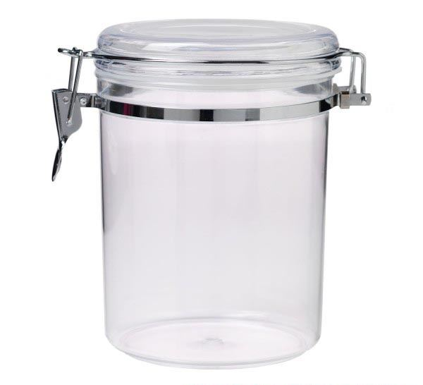 Plastic Display Jar