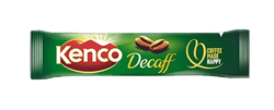 Coffee sticks, Kenco, Decaffeinated