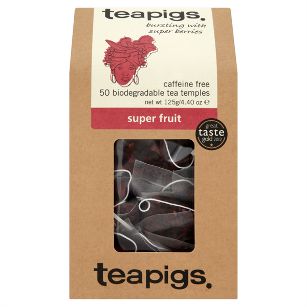 Tea, Teapigs, Tea Temples, Super Fruit