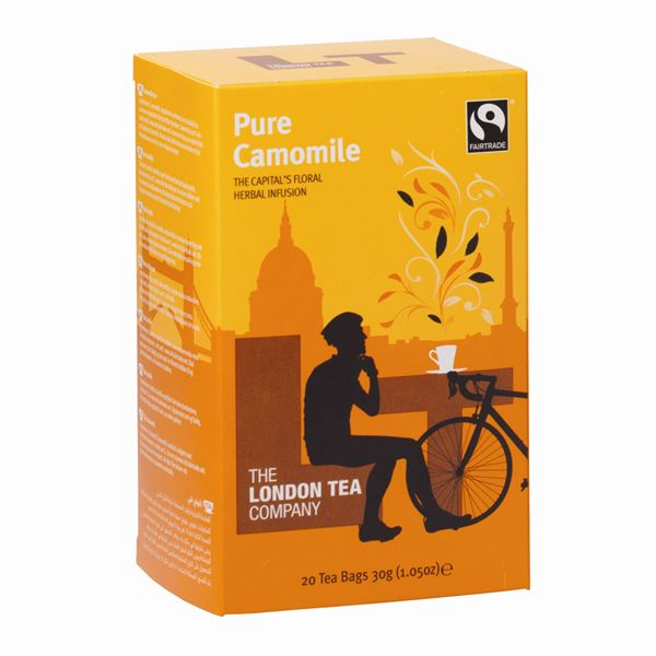 Tea, London Tea, Tagged & Enveloped, Camomile