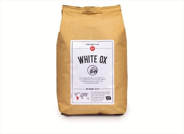 De White Ox Utz Beans 12 X 500g Crown Water Coffee