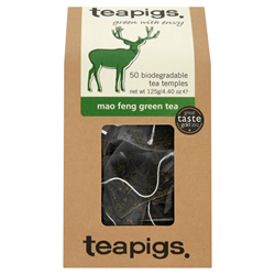 Tea, Teapigs, Tea Temples, Mao Feng Green Tea