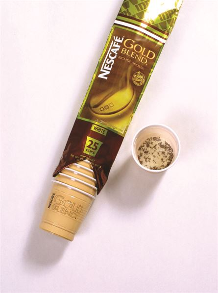 In-cup Coffee, Gold Blend, In-cup, White Coffee