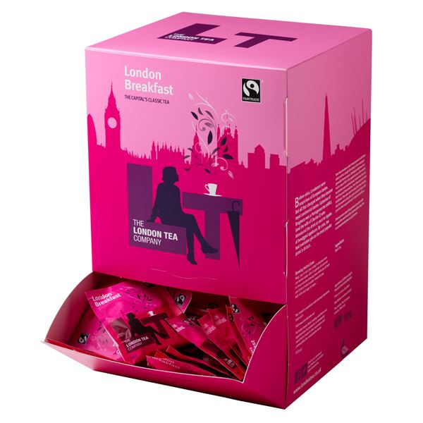 Tea, London Tea, Tagged & Enveloped, Breakfast Tea, 250