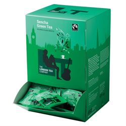 Tea, London Tea, Tagged & Enveloped, Sencha Green Tea, 250