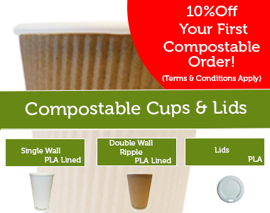 compostable cup offer september