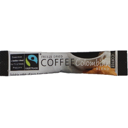 Coffee Sticks, Fair-trade, Colombian